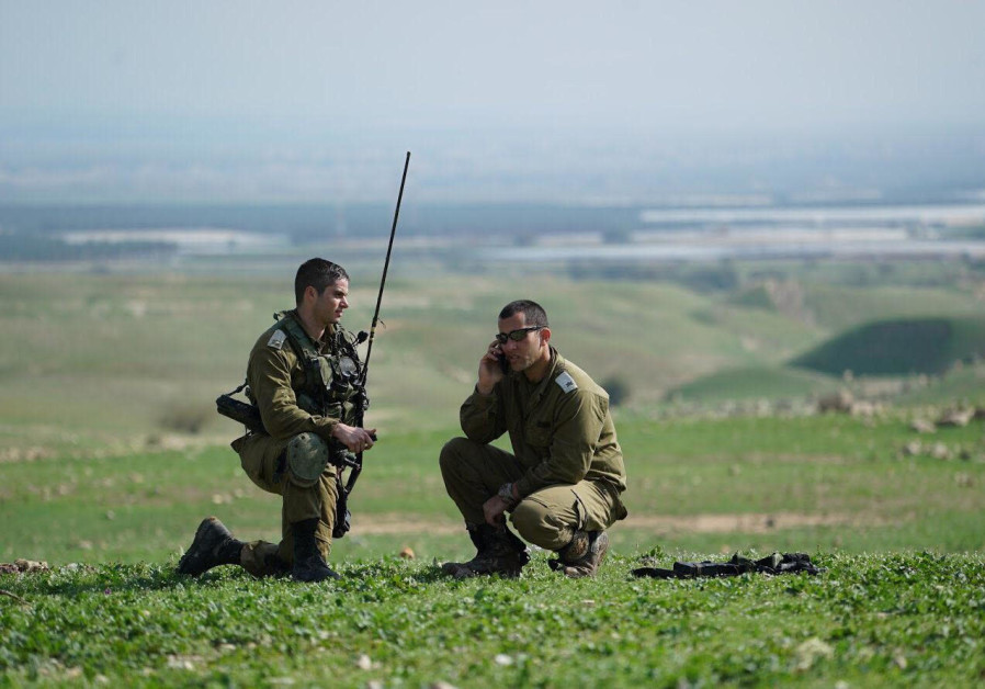 Soldiers from the IDF's 401st Armored Brigade