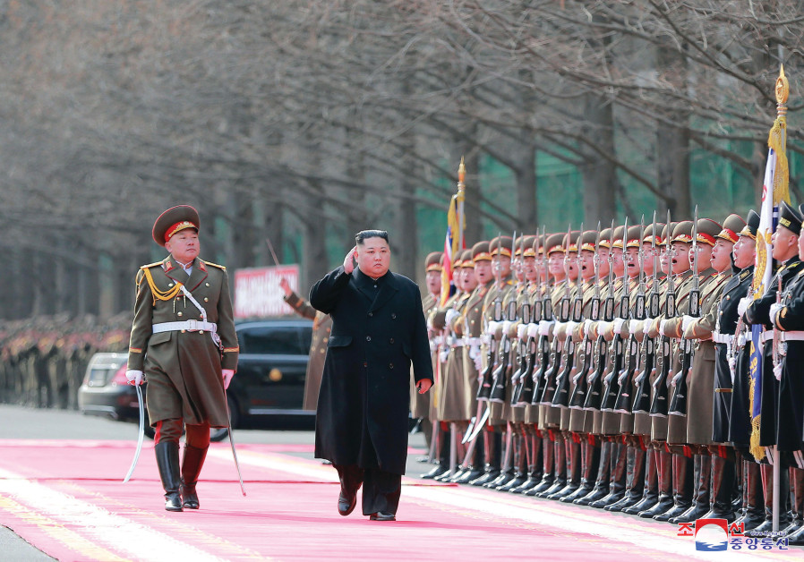 NORTH KOREAN leader Kim Jong Un visits the Ministry of the People's Armed Forces in Pyongyang last w