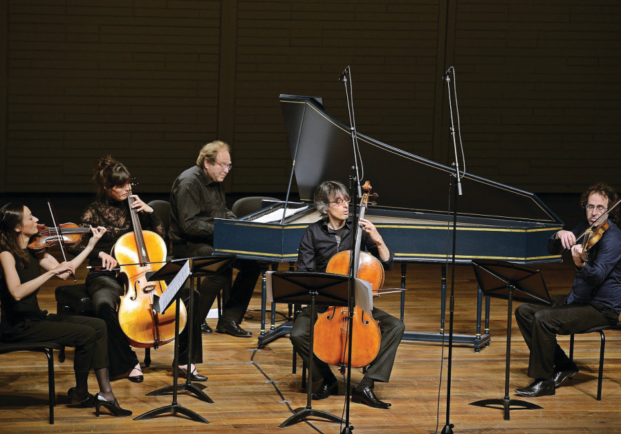 THE IRA GIVOL Ensemble performs Bach suites.