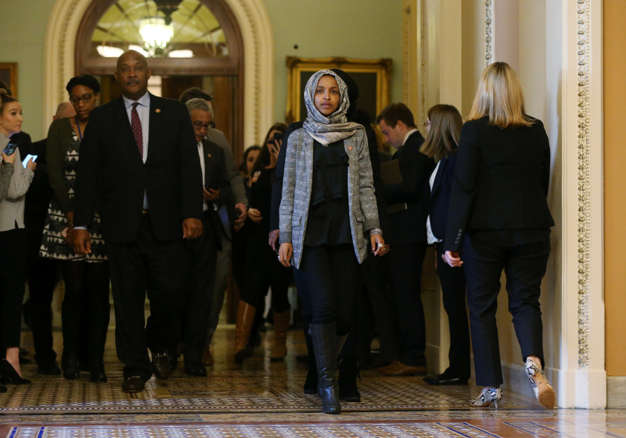 U.S. Rep. Ilhan Omar leaves Senate after watching failure of competing proposals to end government s