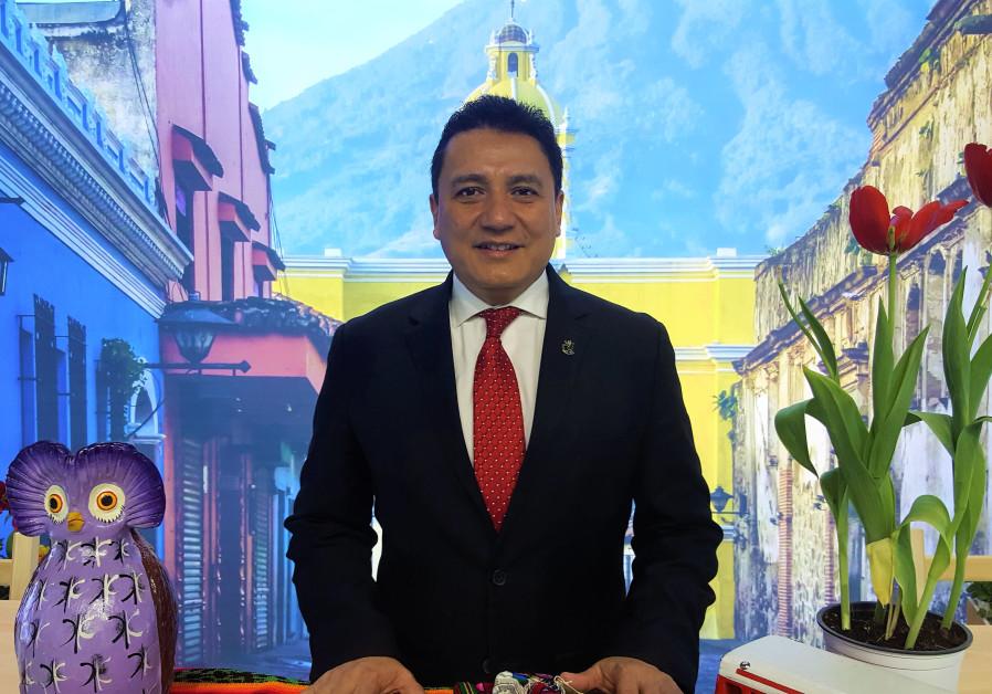 Guatemalan Minister of Tourism Jorge Mario Chajón (Eytan Halon)