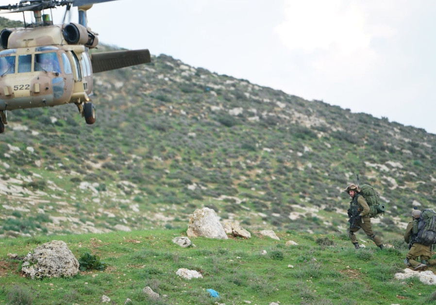 IDF helicopter