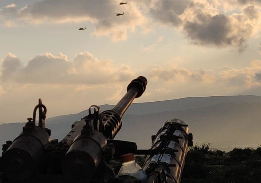Israel Defense Force 401th Armored Brigade training exercise. Credit: IDF SPOKESMAN'S UNIT
