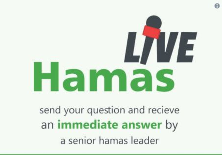 Hamas is taking questions.
