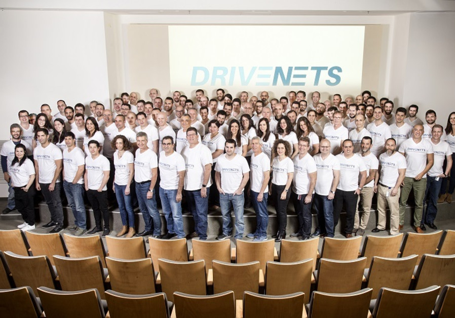 Employees of Ra'anana-based start-up DriveNets