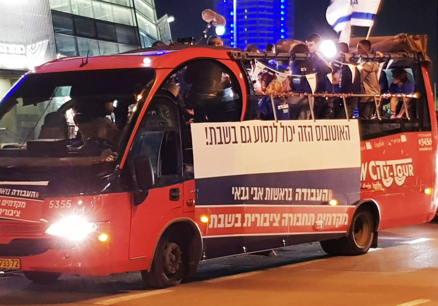 Labor's Shabbat bus