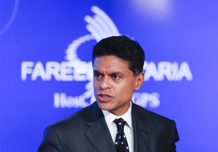"Television journalist Fareed Zakaria hosts a group discussion on ""Business by Design: Business with"