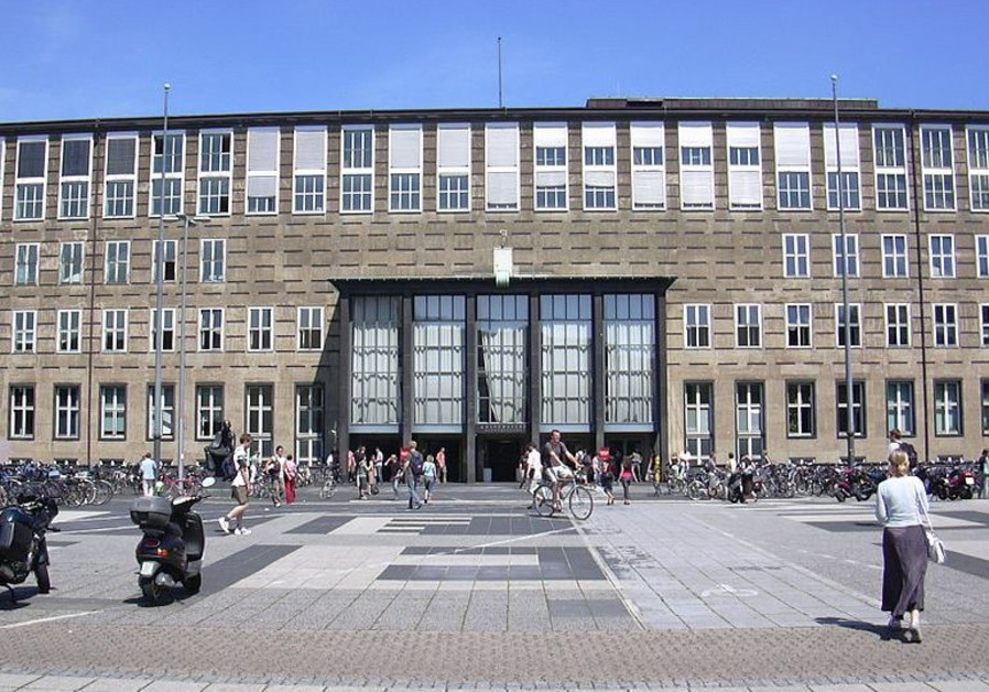 Main building of University of Cologne, by architect Adolf Abel, 1934