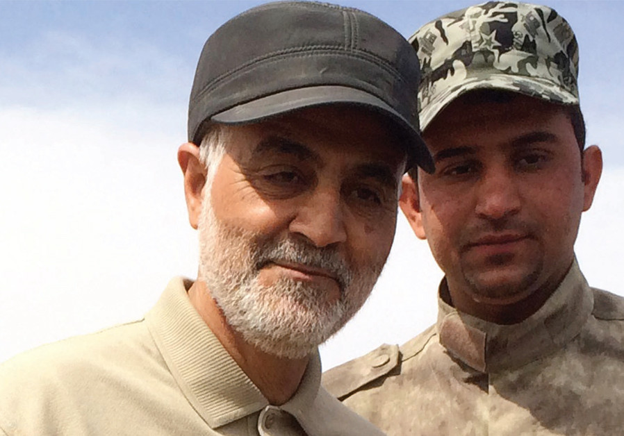 Iran claims it thwarted Arab-Israeli plot to assassinate IRGC Quds Force leader Soleimani