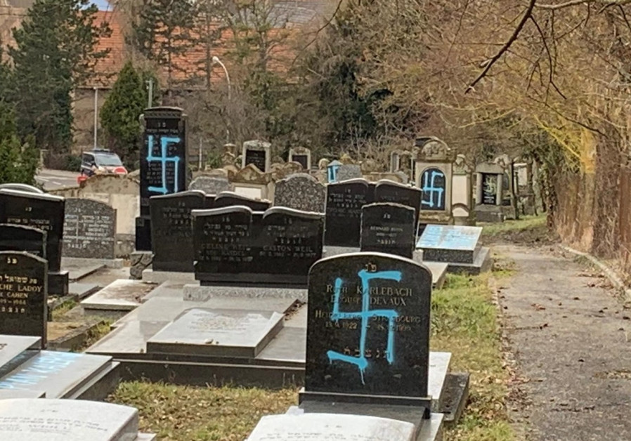 Antisemitic vandalism at Massachusetts cemetery more widespread - police