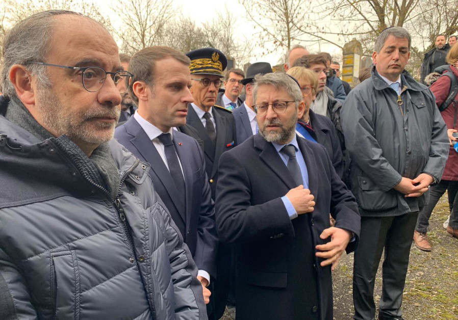 France's Macron meets Jewish leaders as yellow vests under fire over anti-Semitism