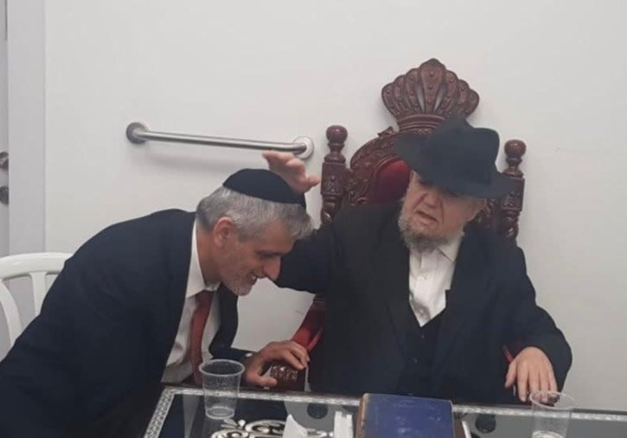 Eli Yishai and Rabbi Meir Mazuz (Yahad)