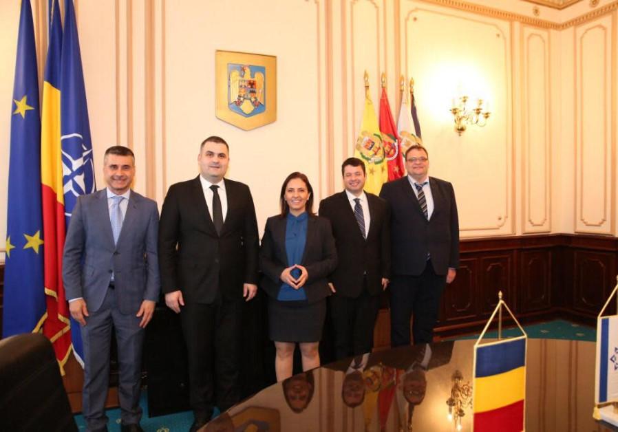 Israelis, Romanian strengthen ties on interfaith diplomacy mission