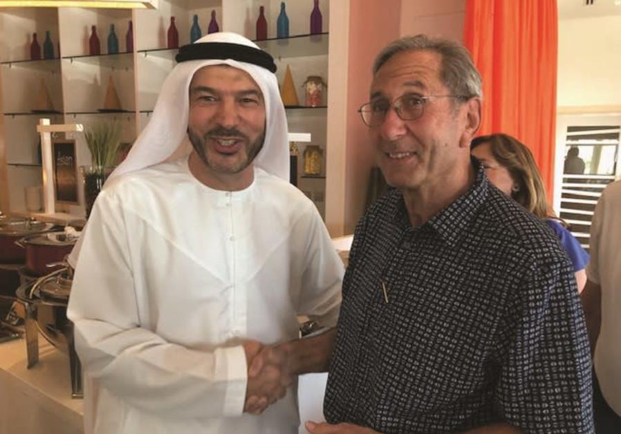David Zwebner with Nasif Kayed