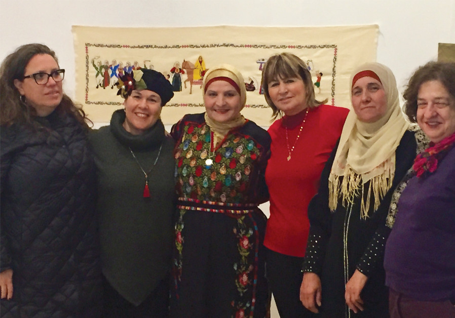 Jewish and Arab women come together over embroidery