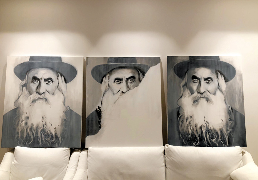 The orthodox Jew with a special connection with art