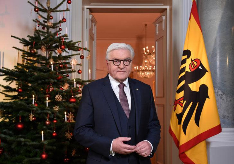German President Lauds Iran on Revolution That Seeks Israel's Destruction
