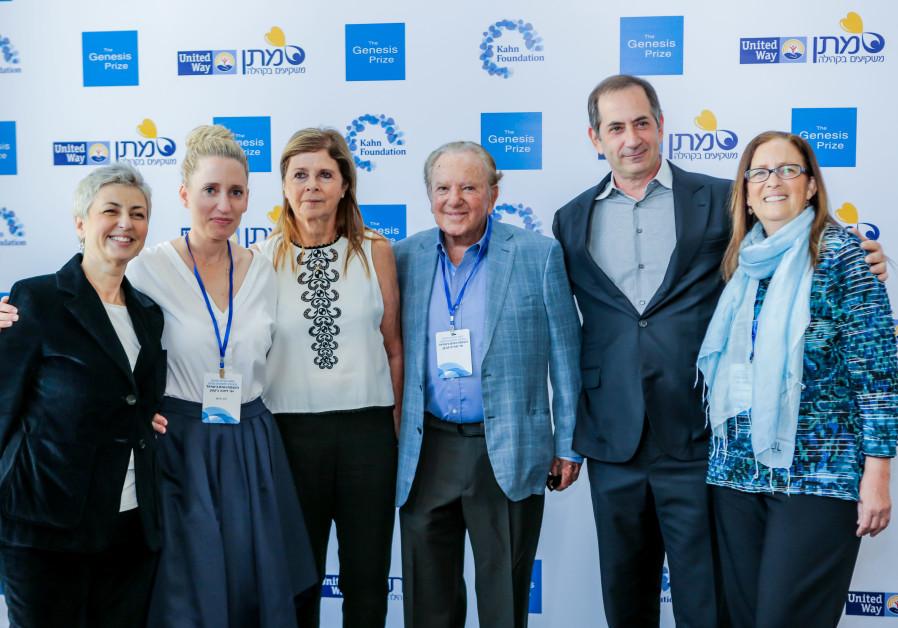 From left to right: Sana Britavsky, Deputy CEO, Genesis Prize Foundation; Dafna Jackson, CEO, Kahn F