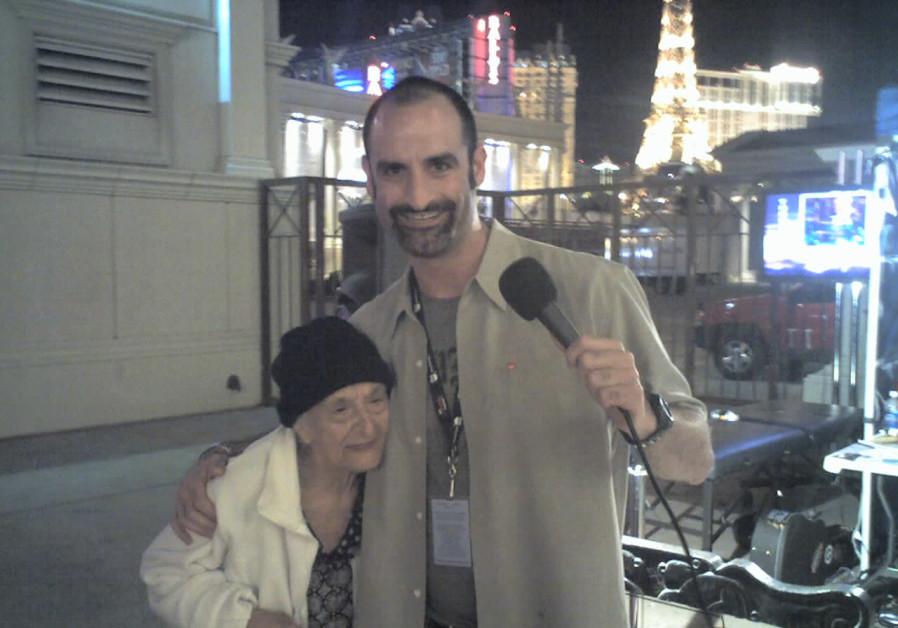Comedian Brody Stevens in Las Vegas.