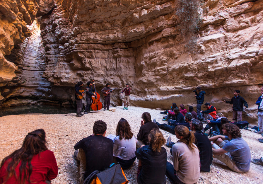 The 10-day musical journey with the Tournees des Refuge ensemble and Sde Boker Field School in Midreshet Ben Gurion (Credit: Ziv Sherzer)