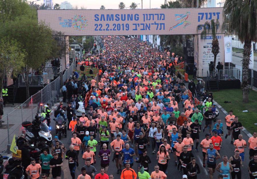 Tel Aviv Marathon: Running down a dream