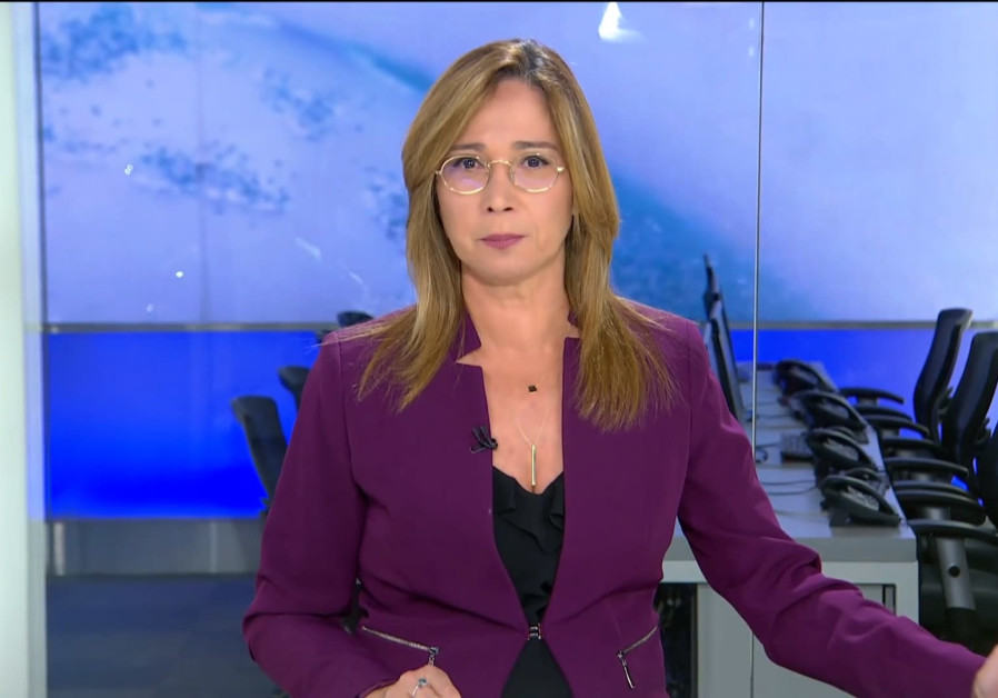 Channel 13 anchorwoman Oshrat Kotler