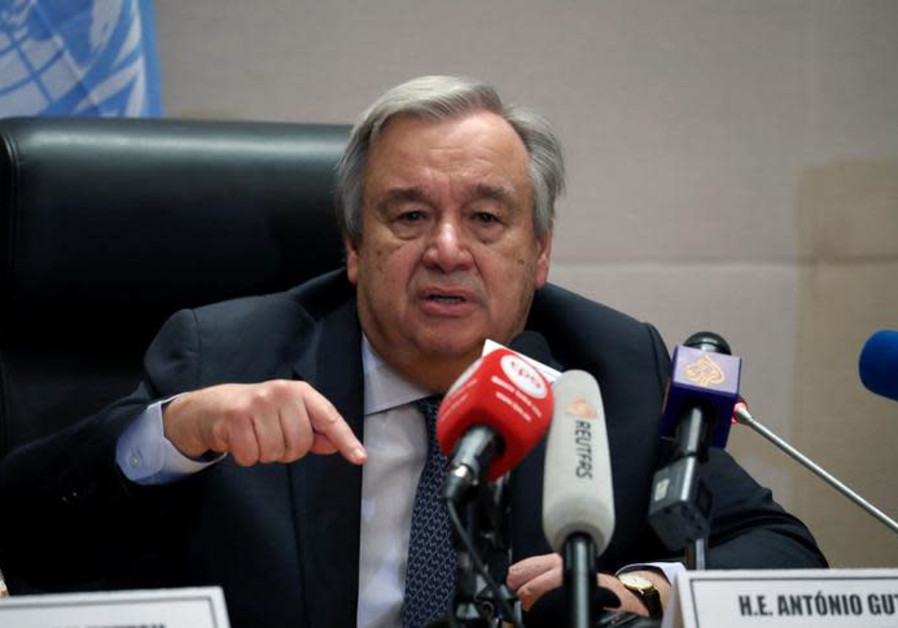 Antonio Guterres, United Nations (UN) Secretary General