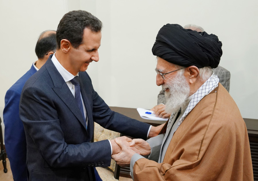 "Iran hosts Syria's Assad in Tehran, slams American ""plots"""