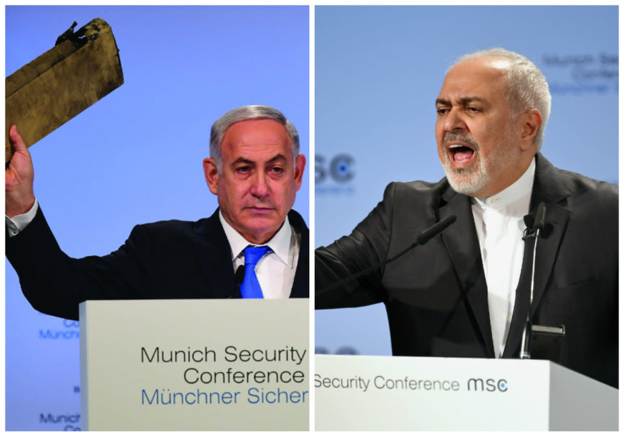 Netanyahu and Zarif