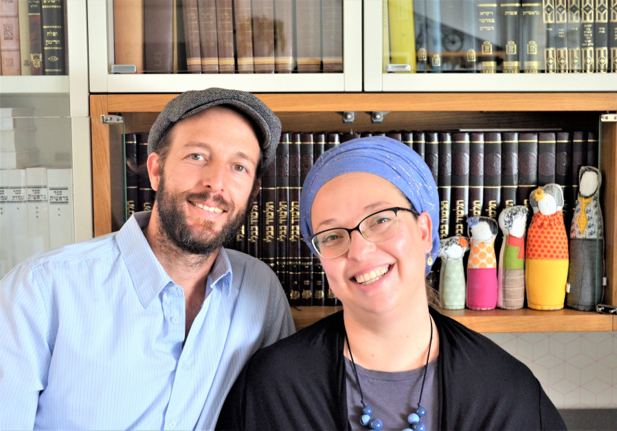 SARAH SEGAL-KATZ and her 'rebbetz-man' Adam