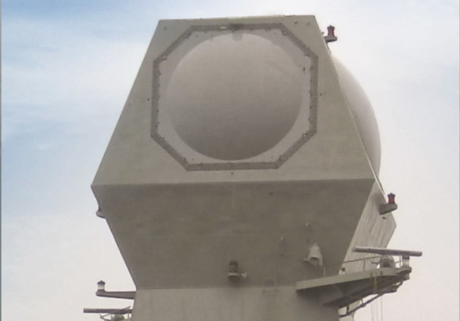 The MF-STAR Multi-Function Digital Radar. Credit: Israel Aerospace Industries