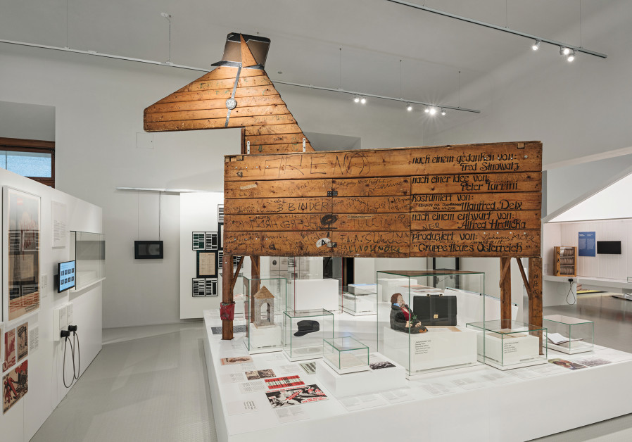 ALFRED HRDLICKA'S mid-1980s Waldheim Horse formed part of protests over Kurt Waldheim's Nazi past