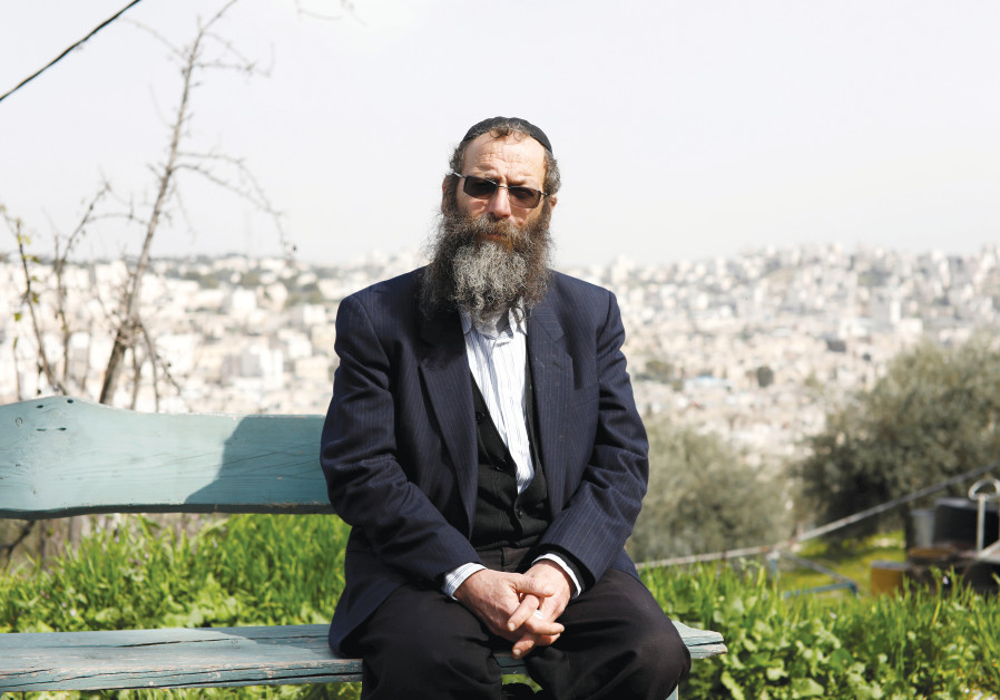 BARUCH MARZEL, from the Otzma Yehudit political party, in Hebron this week.
