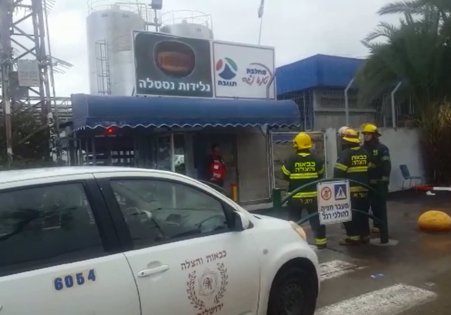 Ammonia leak at Nestle factory in Southern Israel causes minor injuries