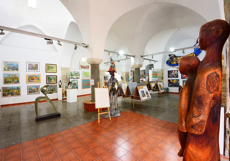Art museum in Tzfat (Credit: Itsik Marom)