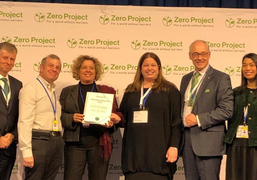 Israeli innovative social justice wins Zero Project foundation award