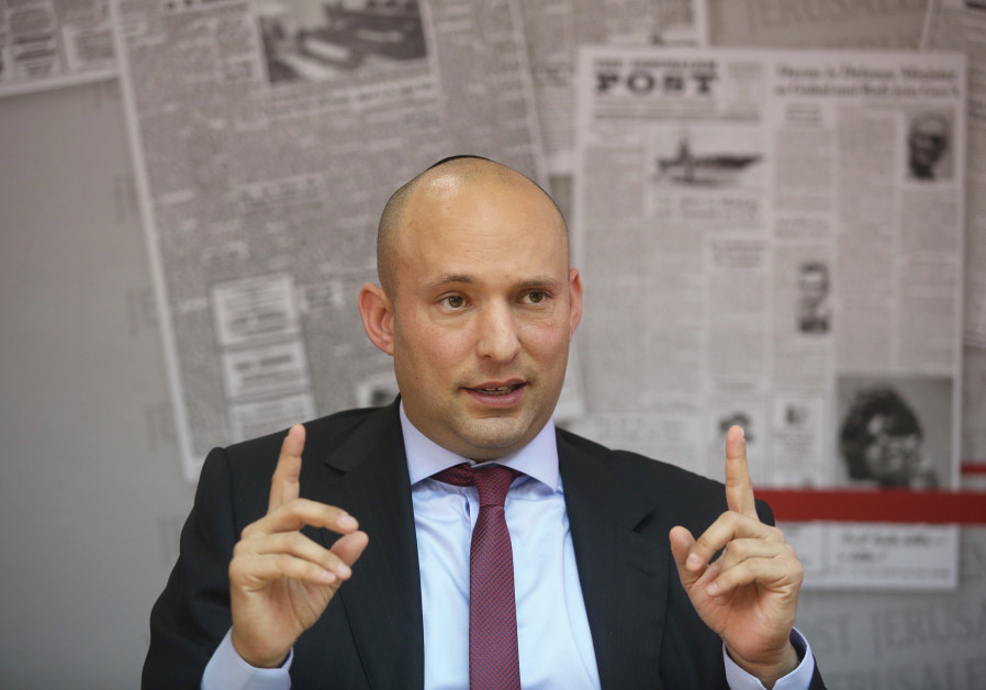 NAFTALI BENNETT: Trump plan is a 'key issue in the campaign'