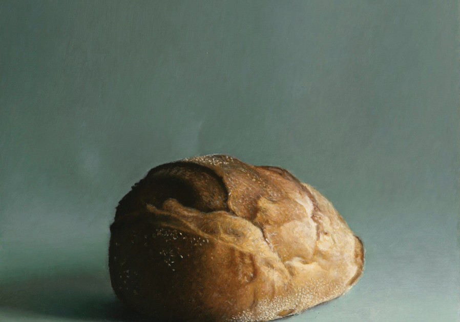 A painting of bread by Aram Gershuni.