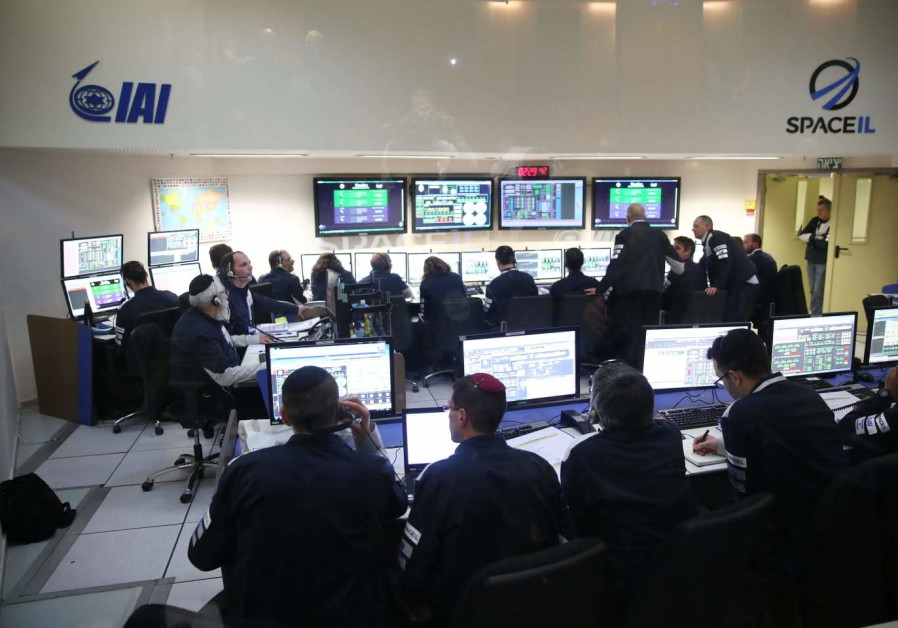 The control room at Israel Aerospace Industries headquarters