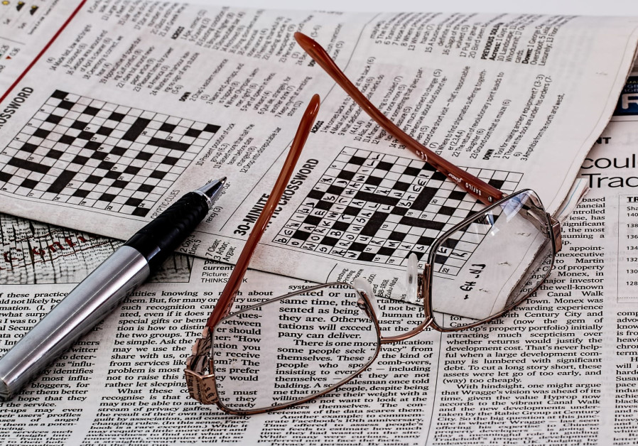 Crossword puzzle [Illustrative]