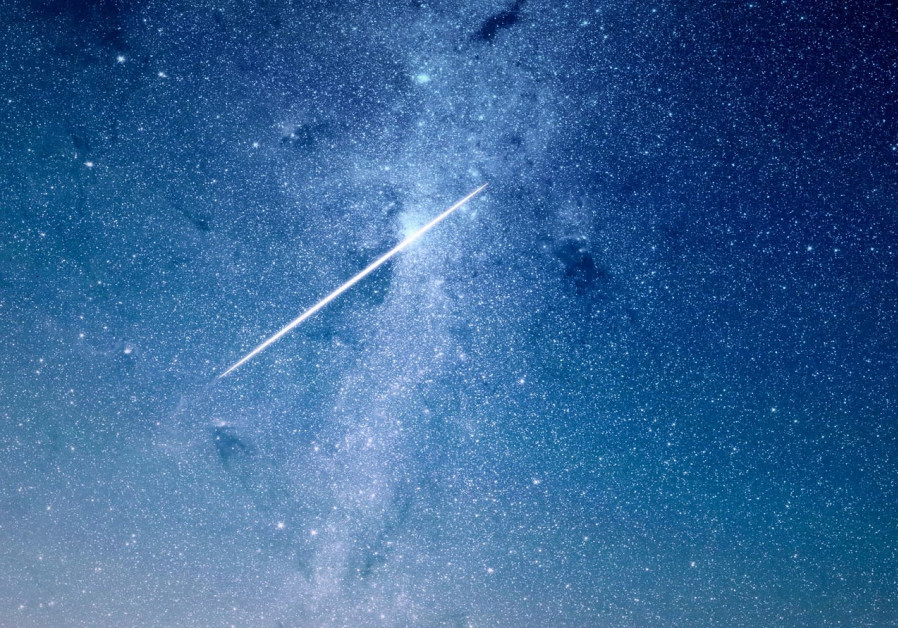 A star in the night sky [Illustrative]