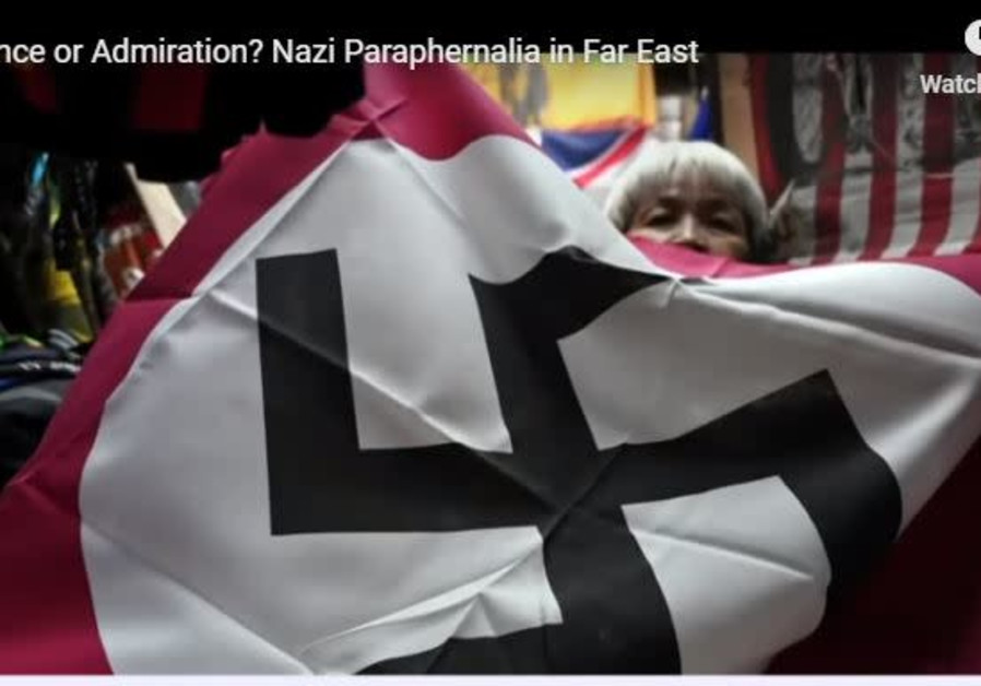 Has Nazism infiltrated Asia?