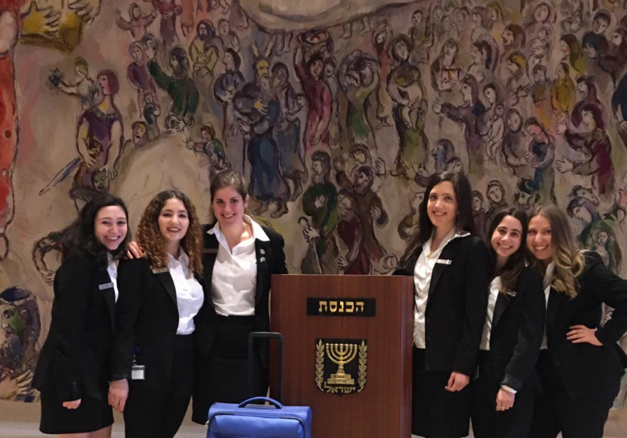 Knesset tour guides (Knesset Spokesman's Office)