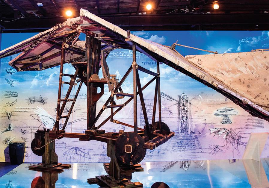 Bloomfield Museum in Jerusalem celebrates Leonardo's 500th anniversary