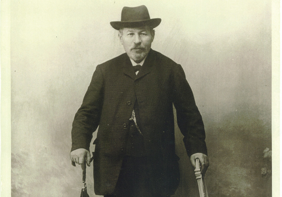PHILIP HERZOG, the wine-making ancestor from Slovakia who became Baron Herzog (Courtesy)