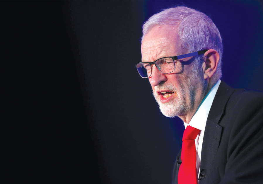 Corbyn to Communist paper: Israel has 'high levels of influence' on media