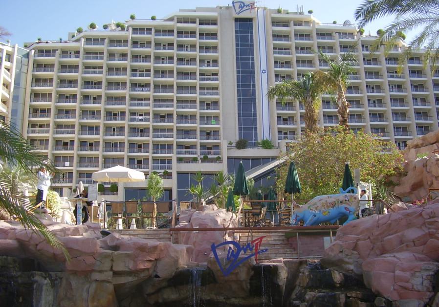 The Dan hotel in Eilat