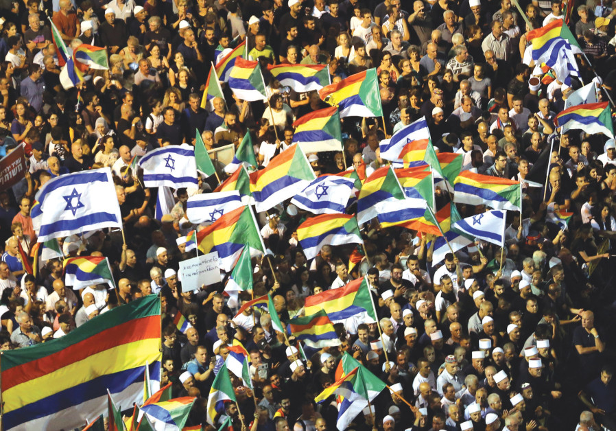 One Year Later: Nation-State Law dented, but didn't damage, Israel's image