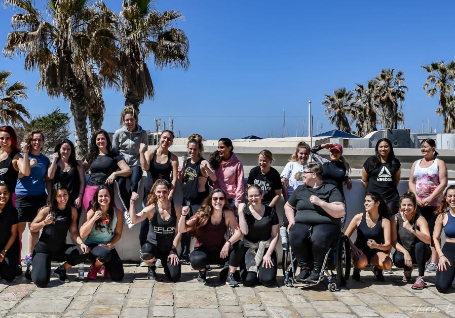 Women's day seminar held at Fight TLV, CrossFit Tel Aviv