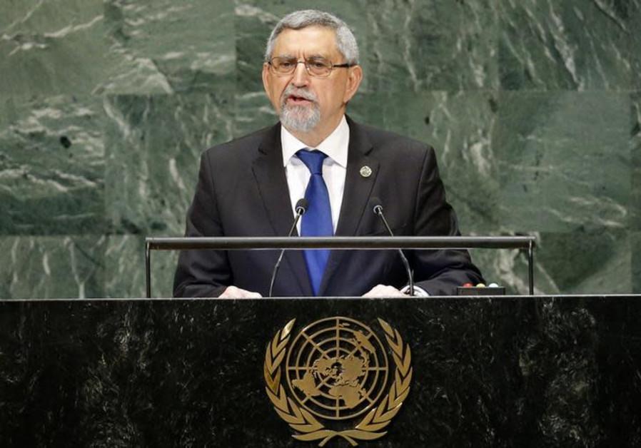 Cape Verde's President Jorge Carlos de Almeida Fonseca